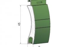 Avvolgibili in alluminio coibentato a45