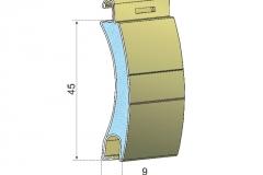 Avvolgibili in alluminio coibentato ad45