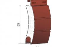 Avvolgibili in alluminio coibentato as55