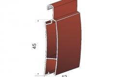 Avvolgibili in alluminio estruso ae45